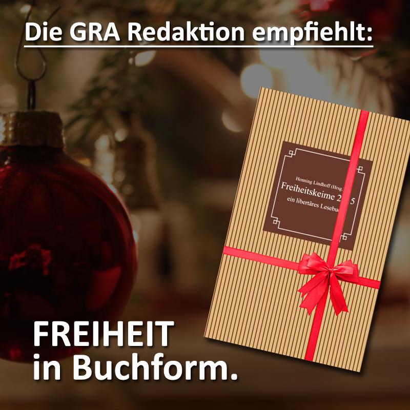 Freiheitskeime 2015 - mit Beiträgen von Katja Triebel und Marc Schieferdecker