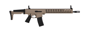XCR-L - Competition Length Upper - 16.75inch Barrel - FDE