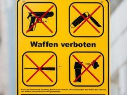 Bundestag - Antrag der Grünen auf Waffenverbot