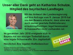 Dank an Kathi Schulz