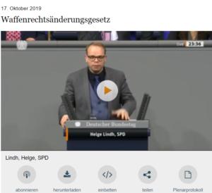 Rede Helge Lindh, Quelle: Mediathek des Bundestags